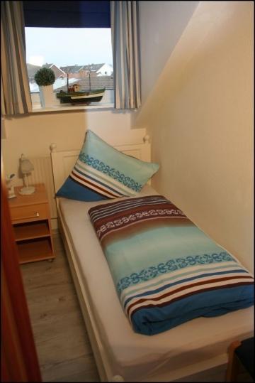 Schlafzimmer des Appartement Meeresidyll